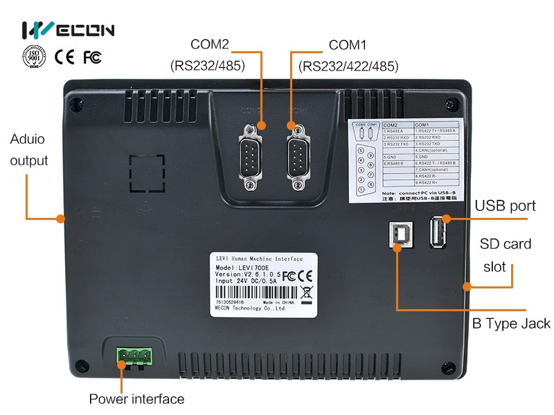 Wecon 7 Inch Industrial Touch Screen Panel Pc Could Replace ...