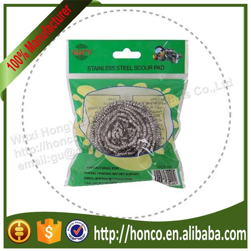 Super Quality stainless steel scourer brass scourer copper scourer