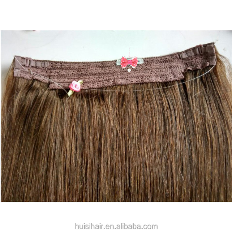 USA Hot !! Qingdao Professionl Halo Hair factory with wholesaler price remy halo hair extensions