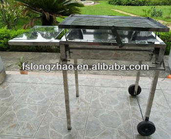 stainless steel charcoal bbq grill charcoal grill - Stainless Steel Charcoal Grill