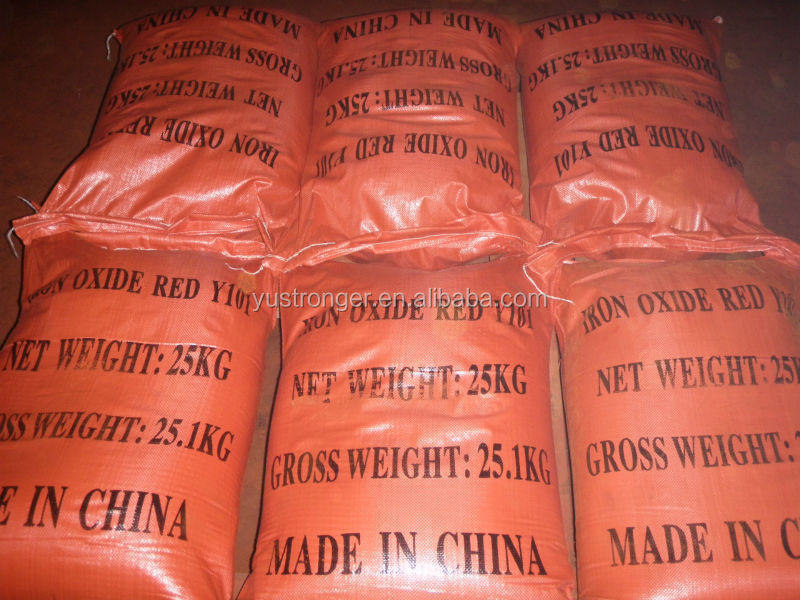 Factory hot selling Chemical Pigment Iron oxide red Y101 / 110 / 120 / r120 / 130a / 130c / p130 / 140 / 180 /190/ H190 / H130
