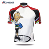 Custom high quality cycle jersey cycling clothing with sublimation printing with factory price