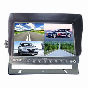 7 Inch 9Inch Stand-Alone Quad Car Lcd Monitor With DVR Function
