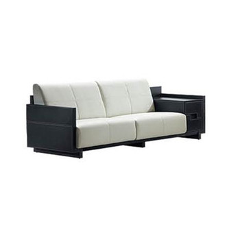 Hotel Furniture Leather Sofa Sf01 1 3 Burgundy Cow Office Foshan
