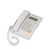 Best selling quality landline corded phone set with caller id in low price