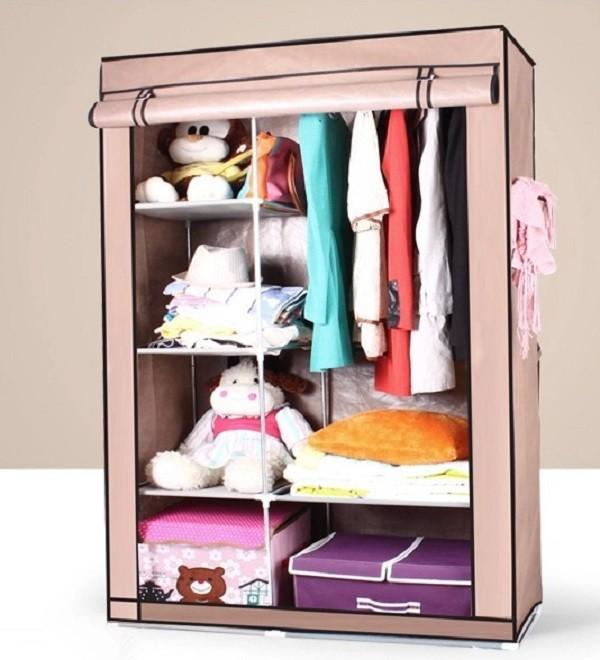 S7 alta calidad y barato port til dormitorio armario for Gabinete de almacenamiento dormitorio