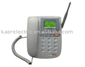 GSM and PSTN wireless phone
