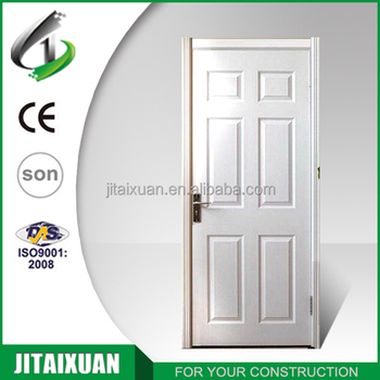 Cheap White Hollow Core HDF Interior 6 Panel Doors