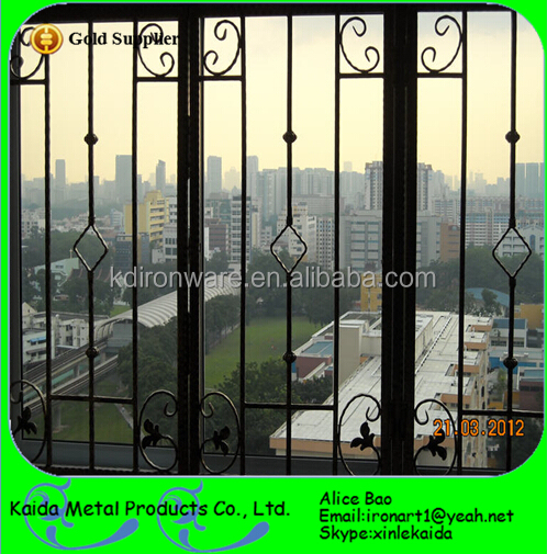 Customized Window Grills Design For Sliding Windows