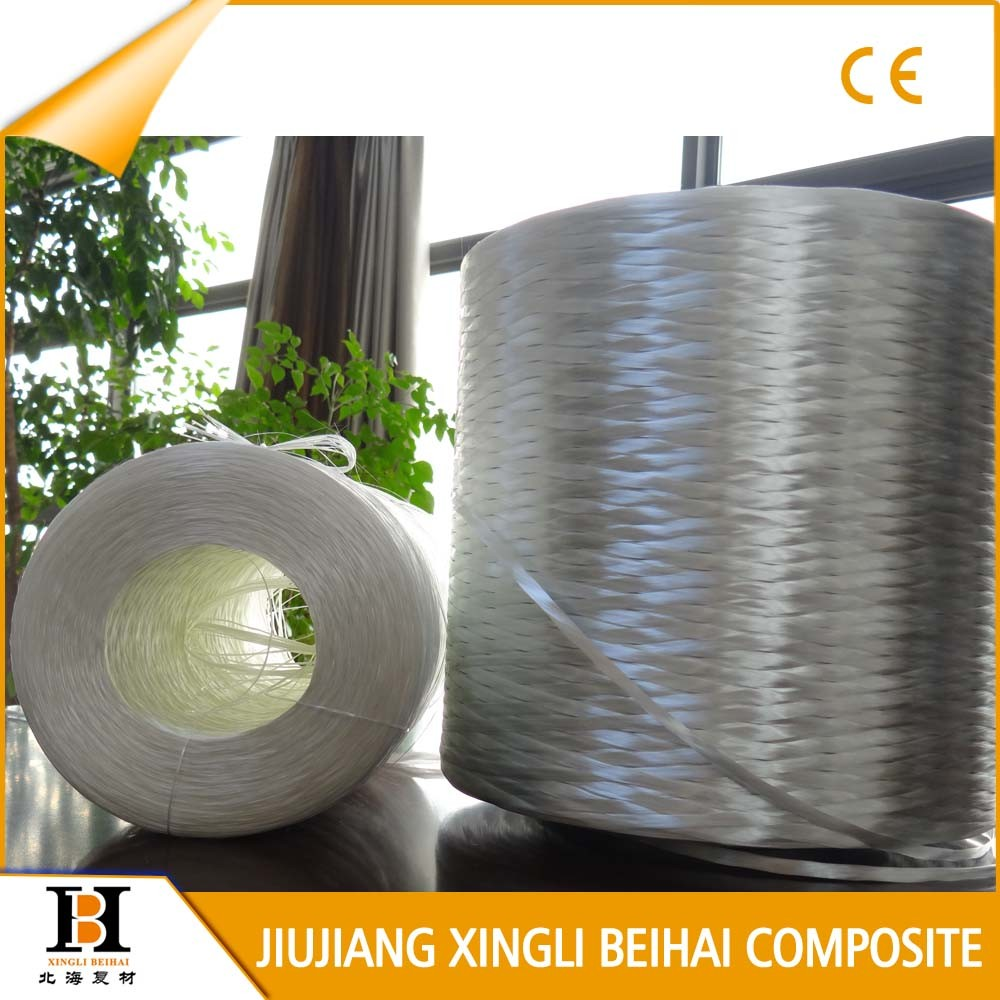 High quality fiberglass roving by hand lay up