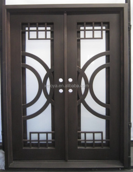Wrought Iron Security Door Design