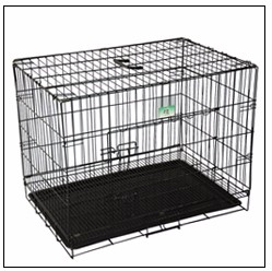 all sizes deluxe aluminum dog cage box for car