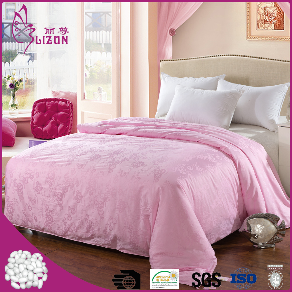 factory price high quality cotton cover handmade silk comforter