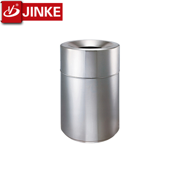 Stainless Steel Air Trash Can High Quality Hk Style Dustbin Office Waste Garbage