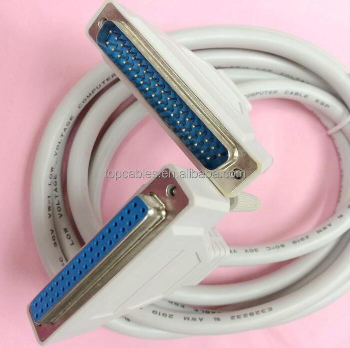 D-Sub 37 extension cable 37 pol. Sub-D extension 2m cable