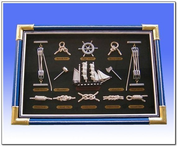 nautical knots frame nautical knots frame suppliers and manufacturers at alibabacom - Nautical Picture Frame