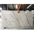 SH8382 SUPER QUALITY 3200x1600 Venus Calacatta Gold Artificial Quartz Stone Slab For Kitchen Countertop,Artificial Stone