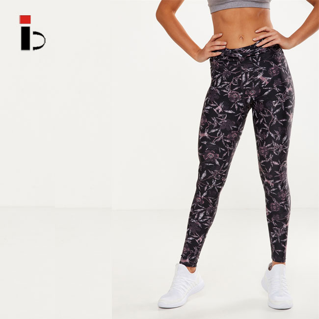 Women Fitness Yoga Pants  Printed fitness clothing leggings