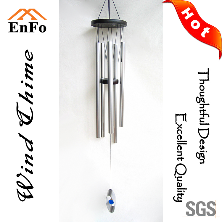 Metal Wind Chime With Aluminium Pipe For Home Decoration