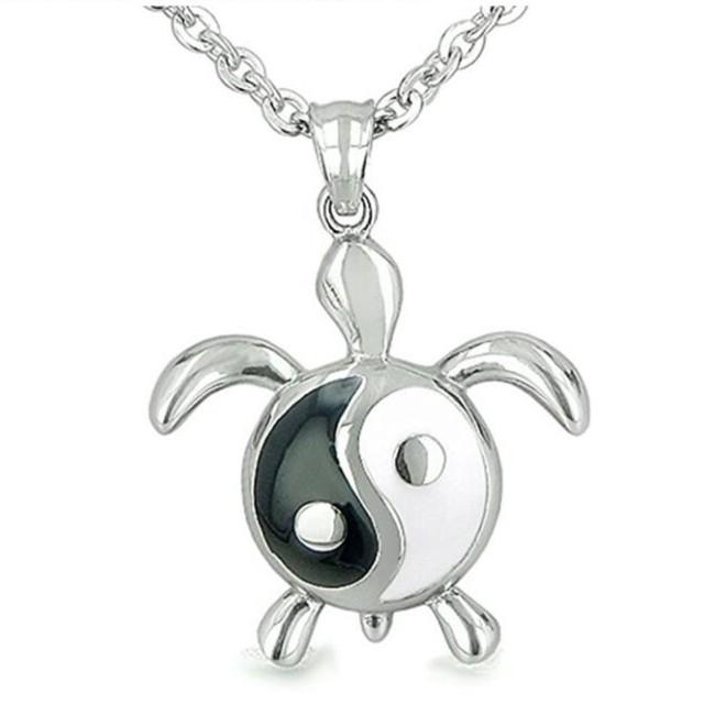 Buy cheap china power balance pendant products find china power yiwu meise amulet turtle yin yang balance magic powers lucky charm pendant necklace pendant necklace mozeypictures Gallery