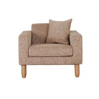 China shanghai single sofa /arm sofa B168-1p