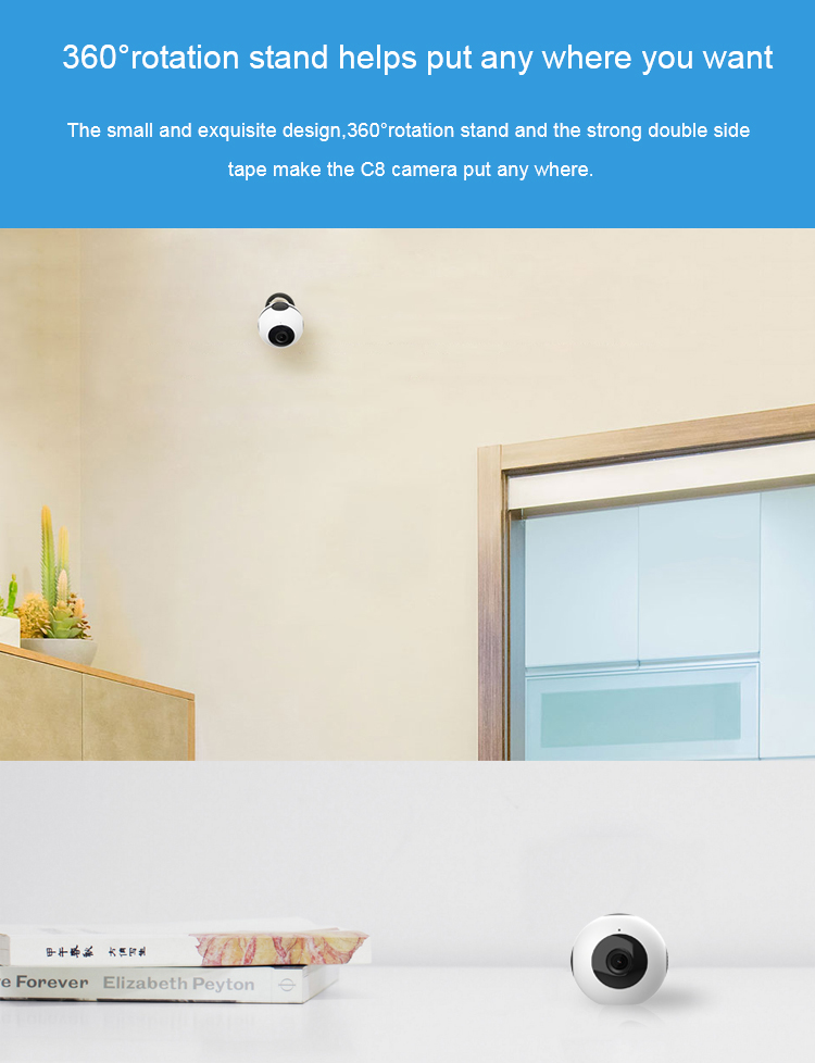 2019 new hot 720P Mini IP Hidden WiFi Camera Wireless P2P Home Surveillance Smart CCTV Camera smart house