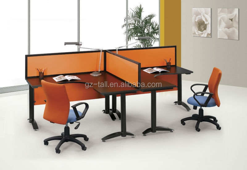 modern modular office furniture 3 person open office cubicles for sale