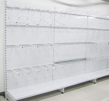 Montaggio Mensole A Muro.Supermercato Mensole A Muro Negozio Acciaio Della Parete Display