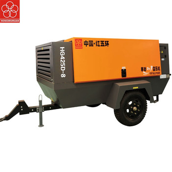 Powerful 110kw Direct Drive Mobile 13bar 22kw 8bar Electric Portable Air Screw Compressor