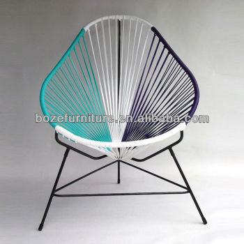 Fashion Egg Shaped Garden Furniture Round Rattan Chair