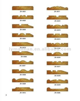 High Quality ZHWOOD Decorative Wooden Mouldings Frame