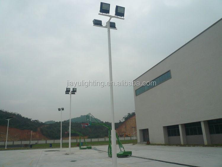 6m 12m Single Arm Solar Street Light Pole Specification, Design Street/garden  Lighting