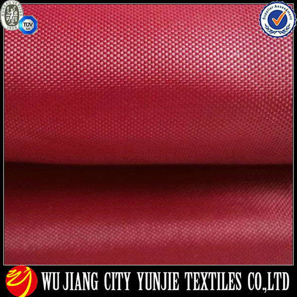 100% poly oxford fabric/oxford cloth/polyester oxford