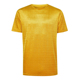 OEM fashion custom brand men basic t shirt yellow velvet tee shirt