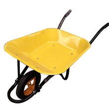 High Quality Garden &Construction Tools Power Metal Wheelbarrow WB6400 for sale