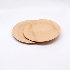 Hot sale good quality bamboo dinner plate