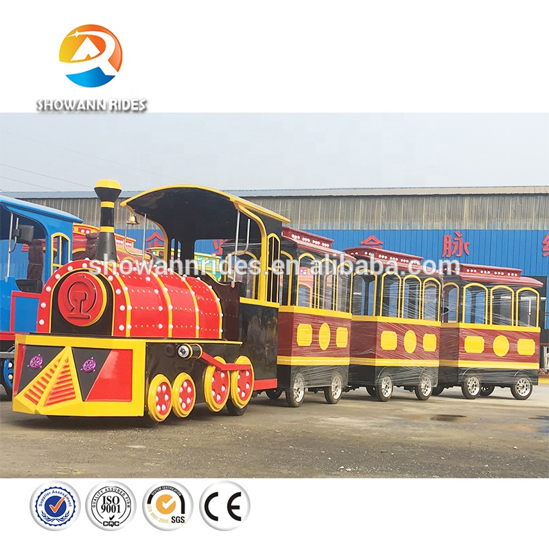 Battery Power Used Theme Park Trackless Train For Sale - Buy Ho Scale Model  Train,Trackless Train For Sale,Miniature Trains For Sale Product on