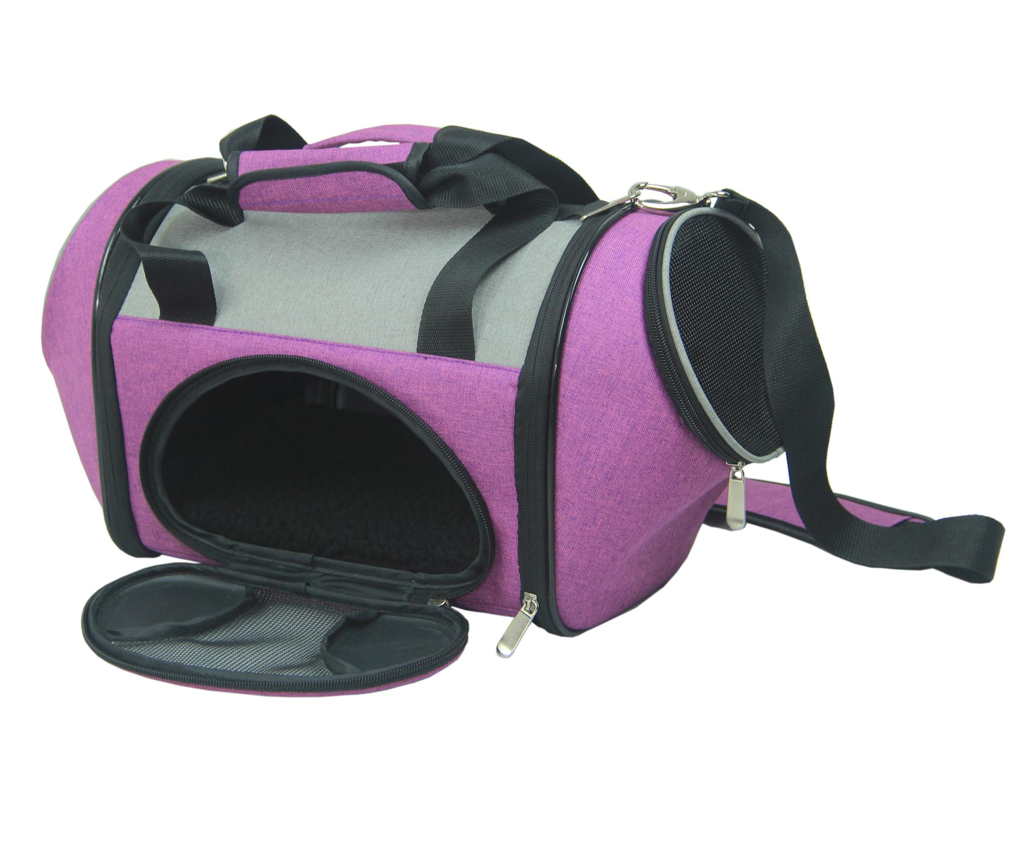 Portable iata Pet Travel Carrier ,Sofe-Side Pet Carrier parts for samll animal