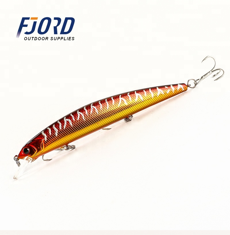 FJORD High quality 19g 130mm floating minnow <strong>fishing</strong> lure hard plastic <strong>fishing</strong> lures