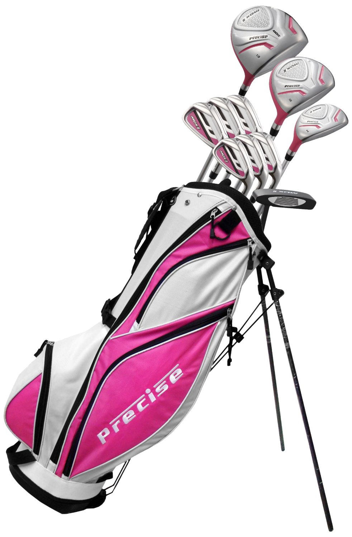 Precise Premium Women's Tall Complete Set, MDX II Ladies, Right Hand, Pink