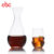 High Quality 13oz Clear Twisted Whiskey Glass With Dimples