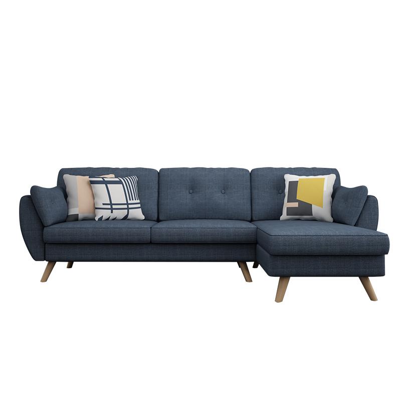 Homestay Furniture Corner Sofa Mid