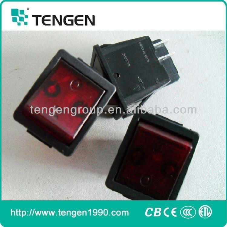 3 Position Oven Rocker Switches for Egypt