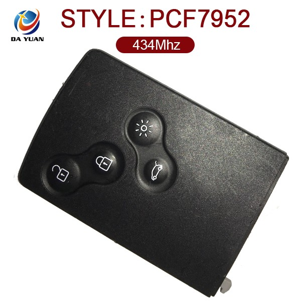 AK010033 Original Car Master Remote Key 4 Button 434Mhz ID46 PCF7952 for Renault QM5 Hot Sale