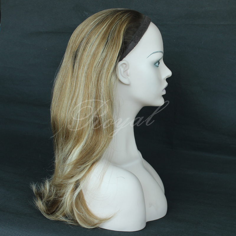 Wholesale Price Light Blonde Ponytail Wig Unprocessed Wig Sports Wig