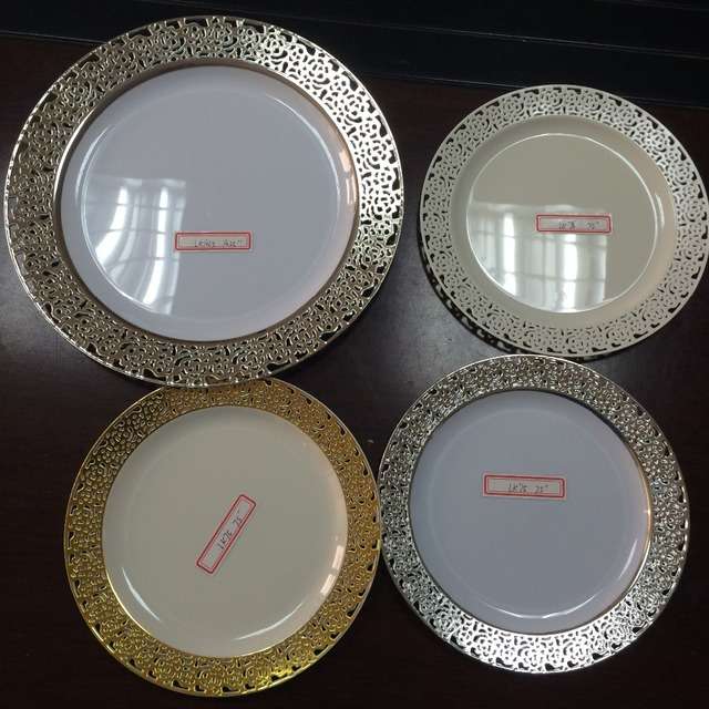 Elegant Disposable Party Dinner Plastic Plates & Buy Cheap China plastic plates-10.25 Products Find China plastic ...