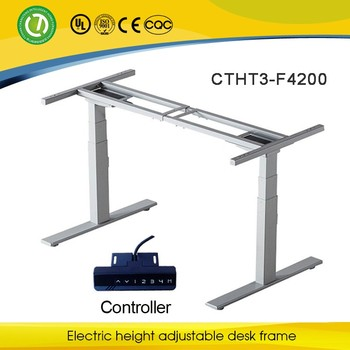 Starbucks Furniture Height Adjustable Metal Table Legs Frame Dining Set