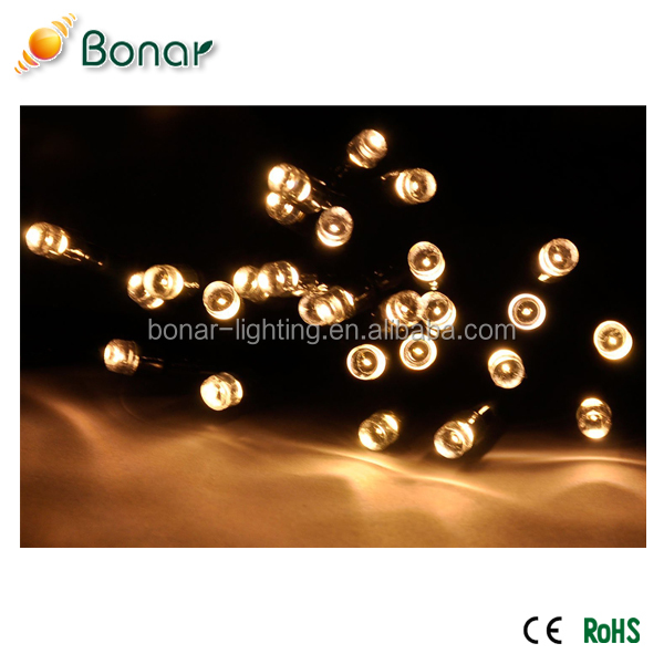 300 500 LED Multi Color Outdoor everbright led solar fairy lights for decoration