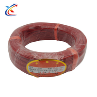 Best wholesale wesite 1.5mm flexible cords cable black red power cable electrical Silicone Rubber Wire