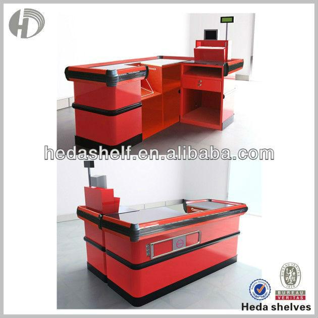 Supermarket Cash Counter Desk